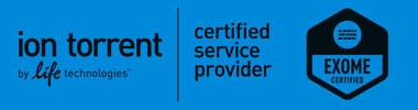 Ion AmpliSeq Exome Certified Service Provider
